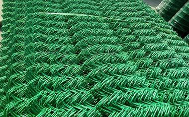 包塑勾花网