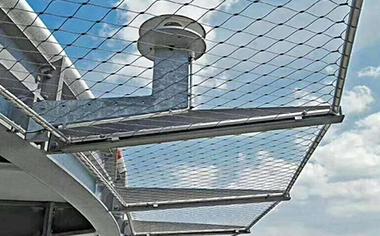 桥梁楼梯防护网