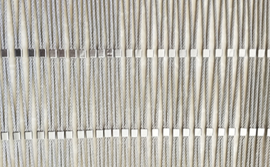不锈钢卡扣绳网
